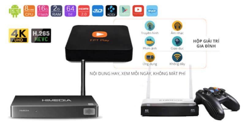 Android TV Box siêu phẩm biến TV thường thành Smart TV