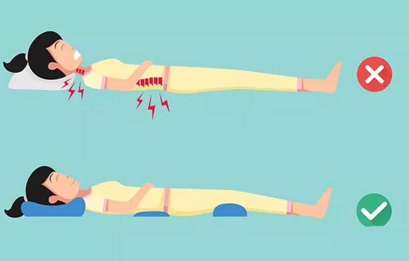 Sửa đổi tư thế ngủ của bạn cũng có thể giúp điều trị đau lưng.