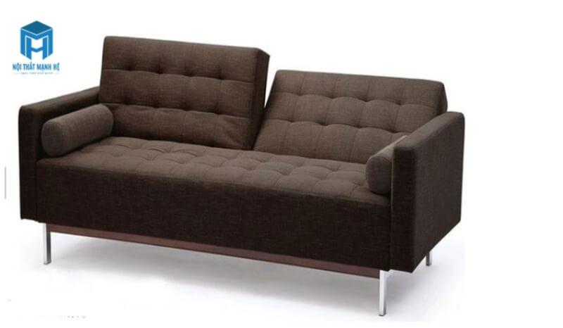 Sofa nệm màu nâu giản dị