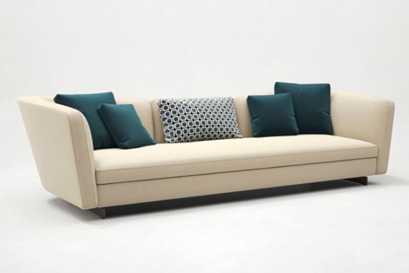 Sofa nệm êm ấm gam màu sáng