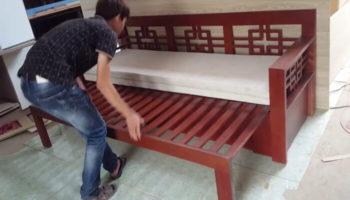 Ghế kéo thành giường bằng gỗ là gì? Mua ở đâu uy tín