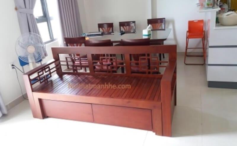 Mẫu ghế kéo thành giường nắm SE02 này này thích hợp dùng cho phụ nữ và người lớn tuổi.