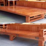 Top 5 giường gấp thành ghế bằng gỗ dành cho phòng ngủ nhỏ đẹp hiện đại